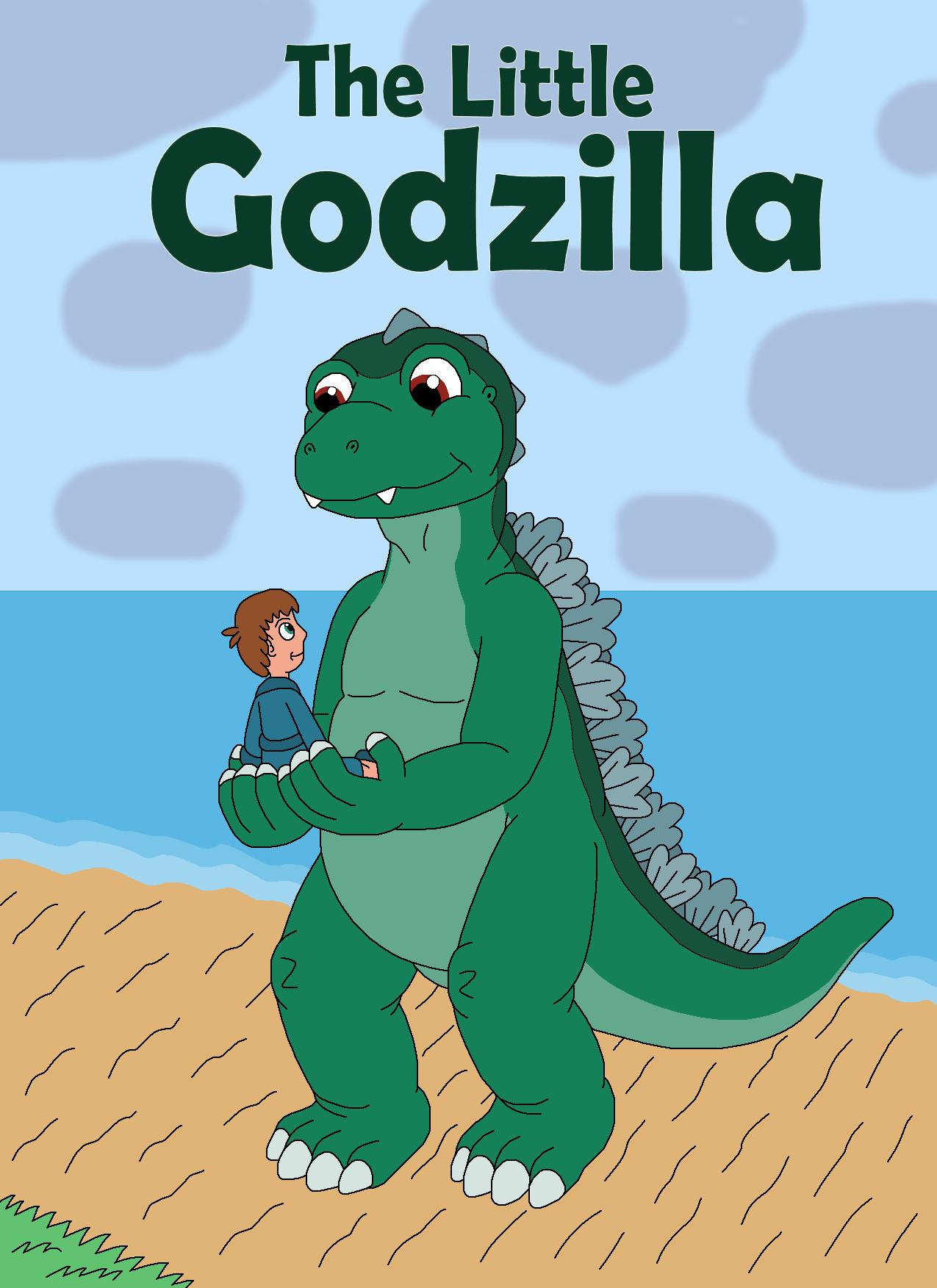 The Little Godzilla by MCsaurus
