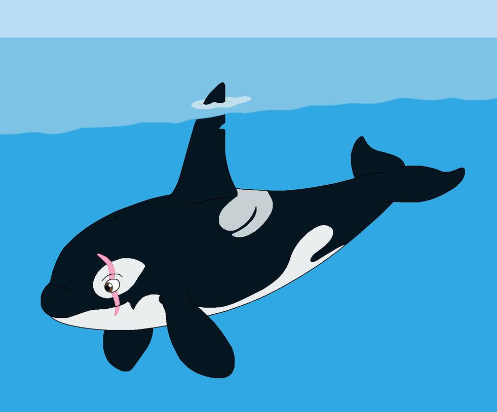 Orca Drawings Okura the orca by okura byOrca Bite
