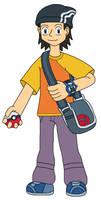 Edd the Pokemon Trainer by MCsaurus