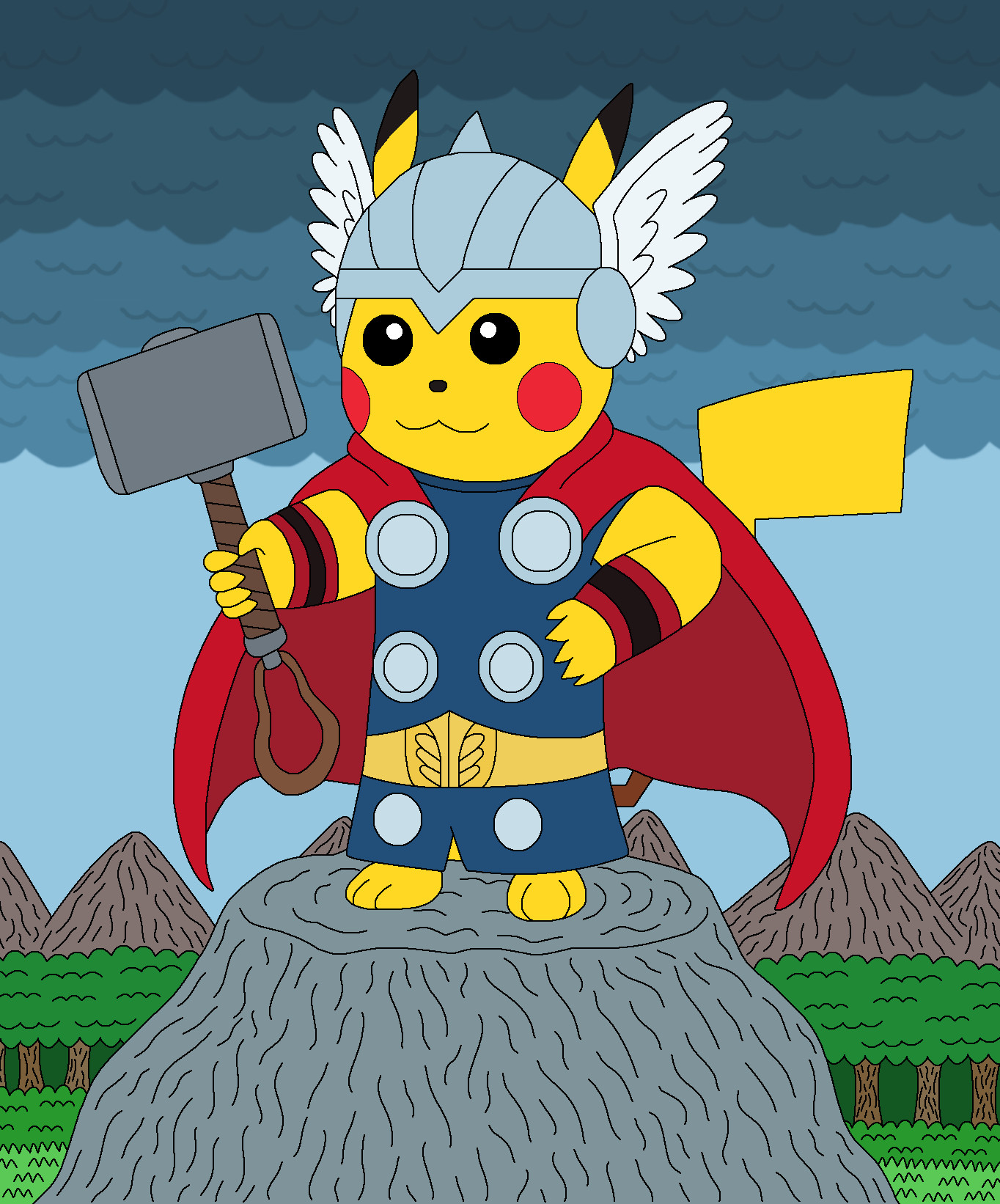 pikachu_as_thor__the_god_of_thunder_by_m