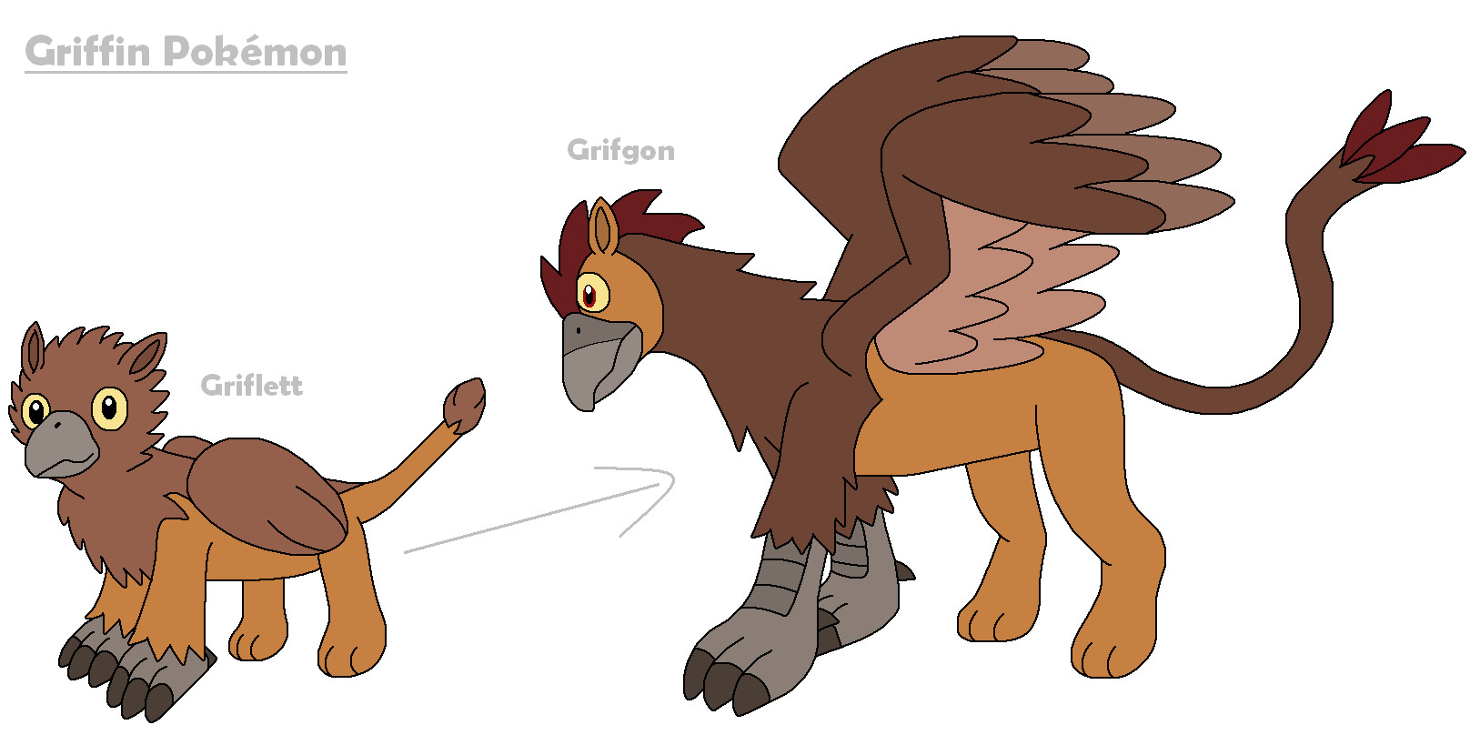 Griffin pokemon by mcsaurus on deviantart for The griffin