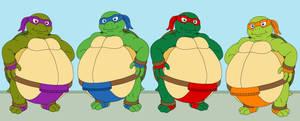 Teenage Mutant Sumo Turtles