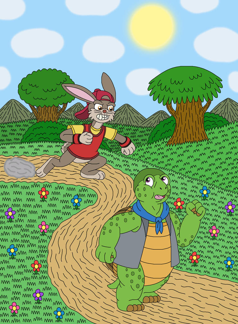The Story of the Tortoise and the Hare by MCsaurus on ...