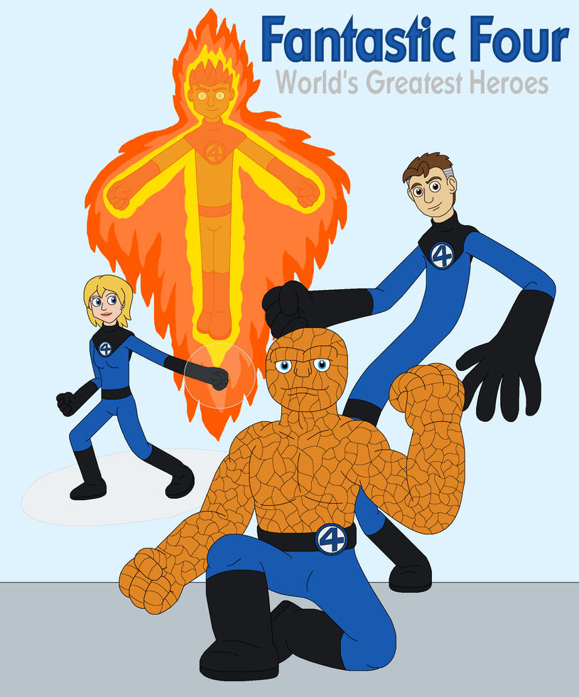 fantastic four worlds greatest heroes wiki