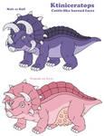 Ktiniceratops by MCsaurus