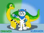 Dinkmon and Kubamon