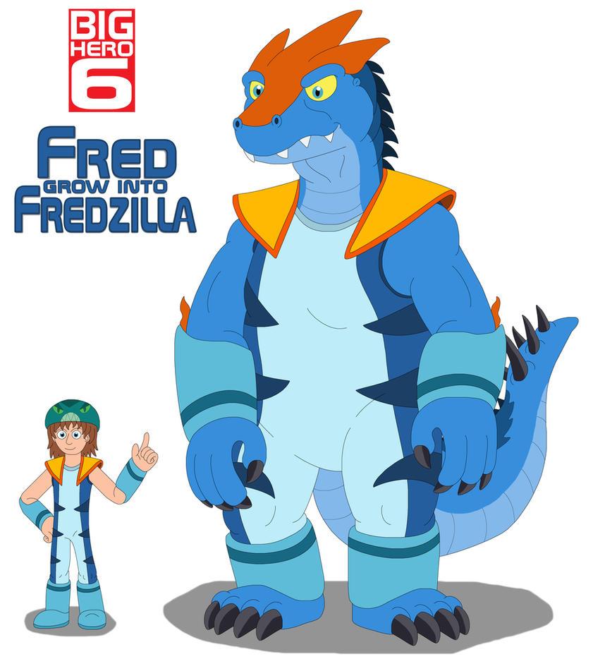 Big Hero 6 Comic Fredzilla