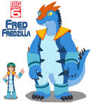 Fred grow into Fredzilla