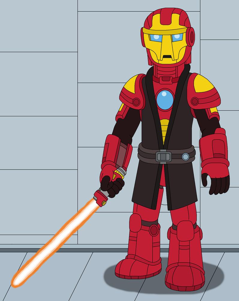 Jedi Version of Iron-Man by MCsaurus