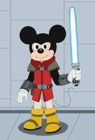 Jedi Mickey Mouse of Rebels by MCsaurus