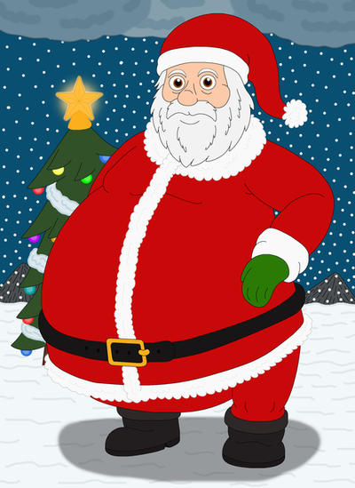 Santa claus by mcsaurus on deviantart