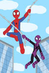 Spider-Man and Spider-Girl