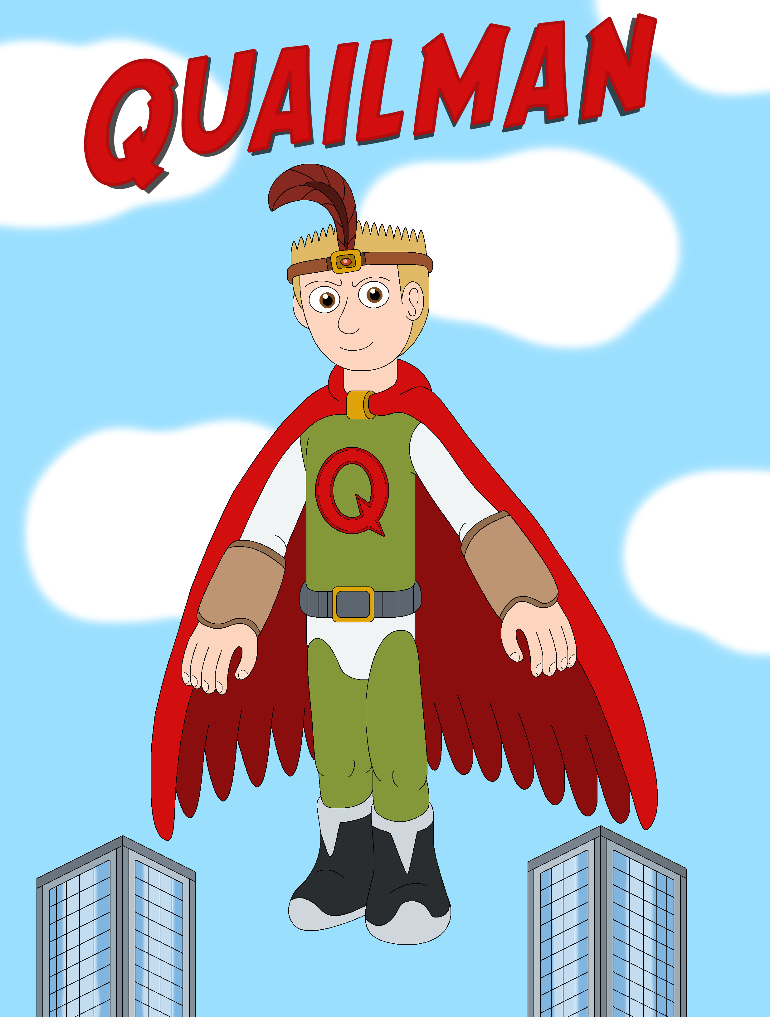 Quailman by MCsaurus on DeviantArt Quailman Doug