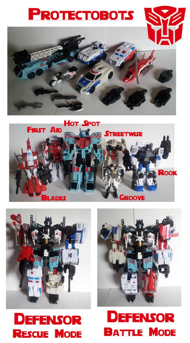 Autobot Protectobots by MCsaurus