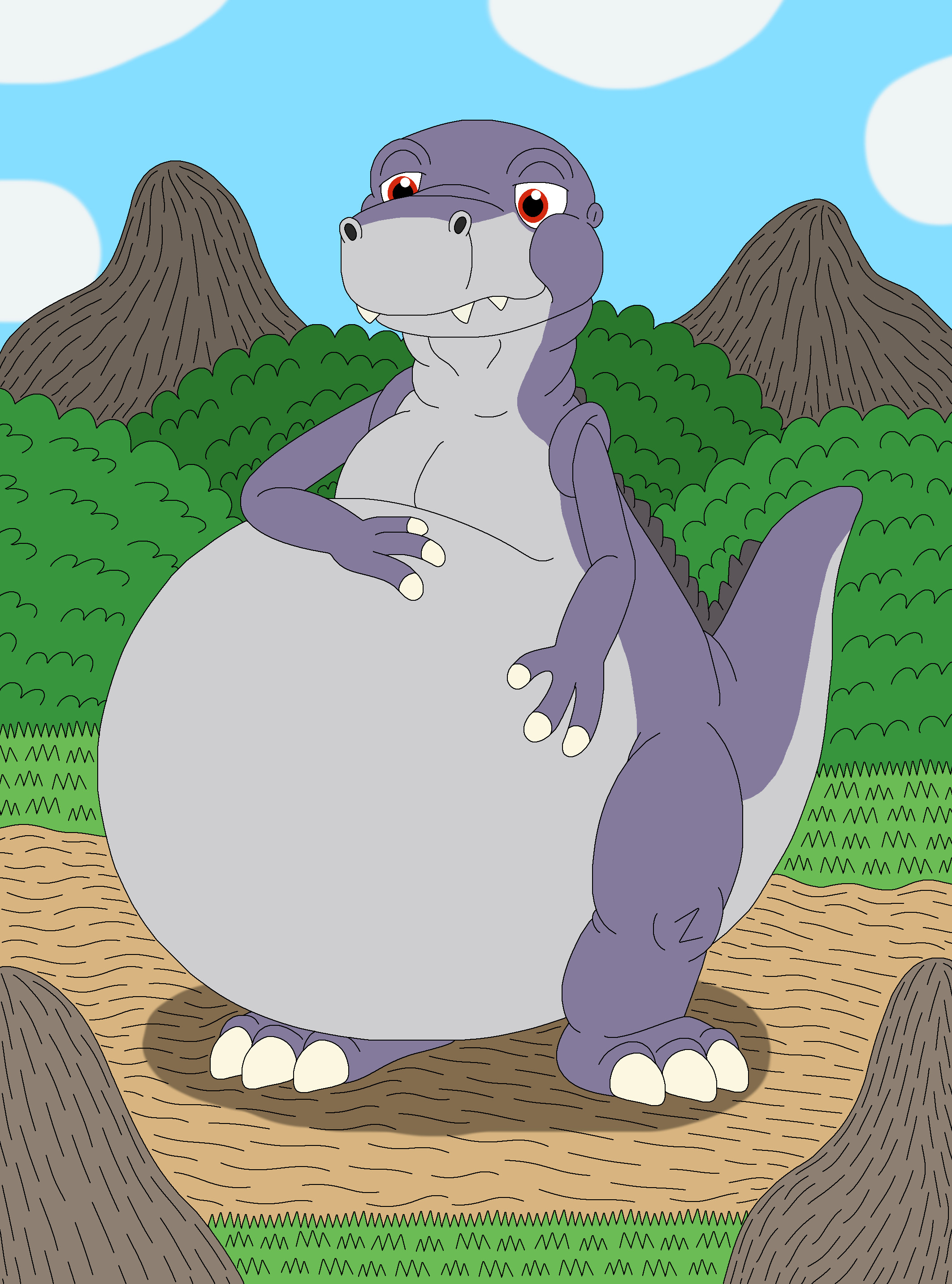 Land before time vore