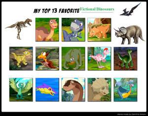 MCsaurus' Top 13 Favorite Dinosaurs