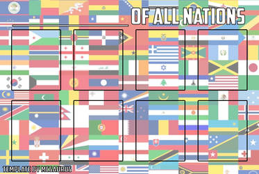 Super Heroes of All Nations by MCsaurus