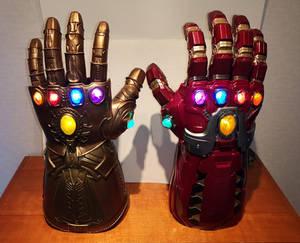 Infinity Gauntlet and Power Gauntlet