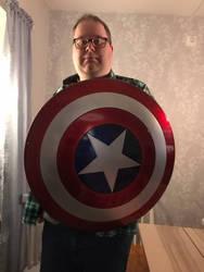 I got a shield of Captain America