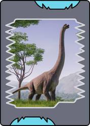 Dinosaur King - Brachiosaurus card