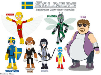 Swedens new heroes  The Soldiers by MCsaurus