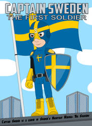 Captain Sweden the First Soldier by MCsaurus