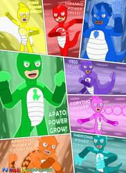 Eight Dino Powers by MCsaurus