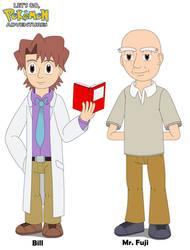 Bill and Mr. Fuji