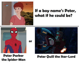 If a boy names Peter, what if he could be