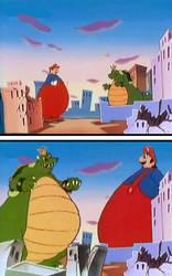Giant Mario and Koopzilla grow BIGGER!