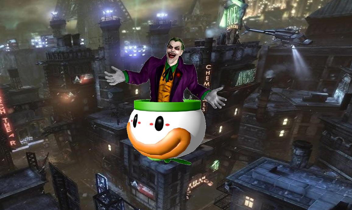 Joker's Clown Car by The-Random-Bats-333