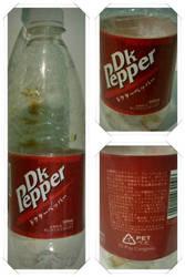 Dk Pepper bottle