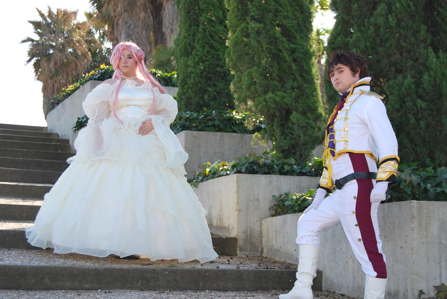 Euphemia And Suzaku by BlazeHikari