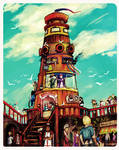 City on the Sea: Tower
