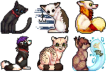 pixel icon batch 1 by coonbutts
