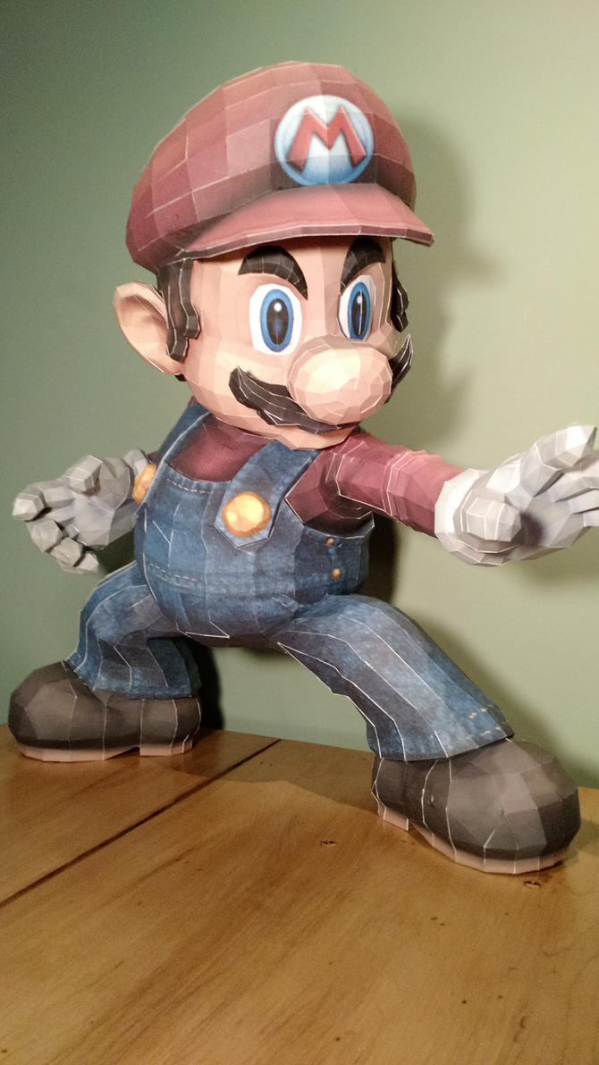 Mario Papercraft by Nohlis