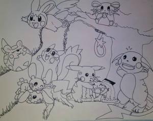 Draw all Pokemon 1