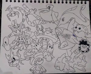 Draw all Pokemon 2
