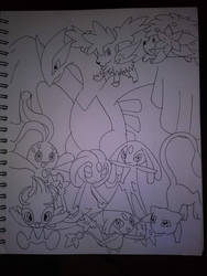 Draw all Pokemon 4