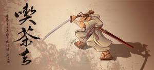 Samurai by alxortega