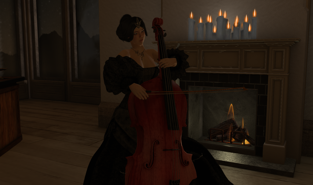 The Red Cello - by Masqueraderie