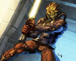 Star Wars- R. McQuarrie's Luke Skywalker by PnzrK