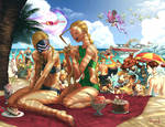 Street Fighter Swimsuit Special- UDON