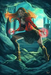 Scarlet Witch by PnzrK