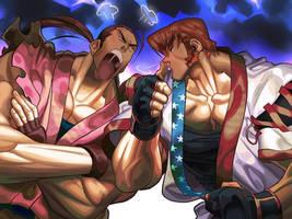 Dan Hibiki VS Allen Snyder