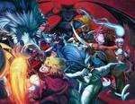 Street Fighter VS Darkstalkers Vol. 1 and 2