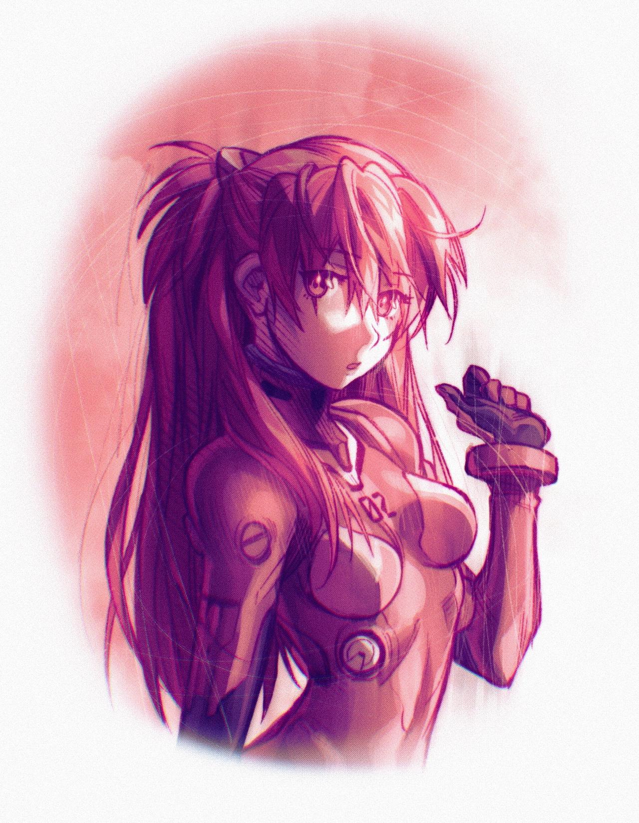Neon Genesis Evangelion- Asuka
