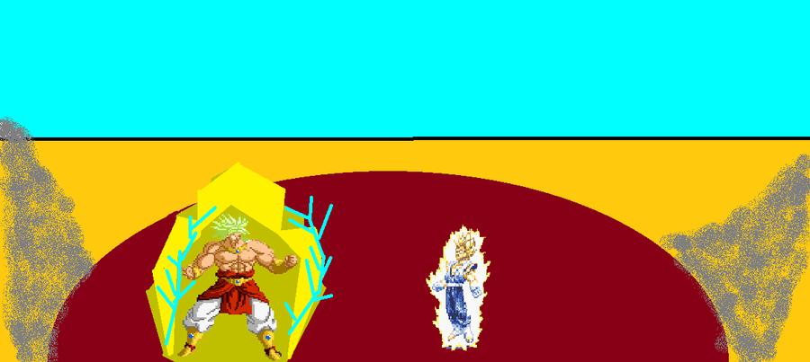 Vegito vs Broly by scifiguy9000 on DeviantArt