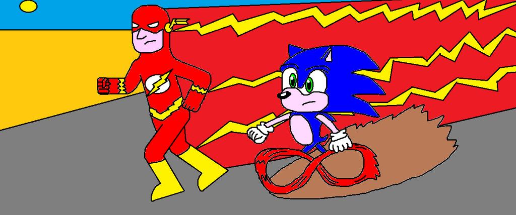 flash vs sonic - photo #20