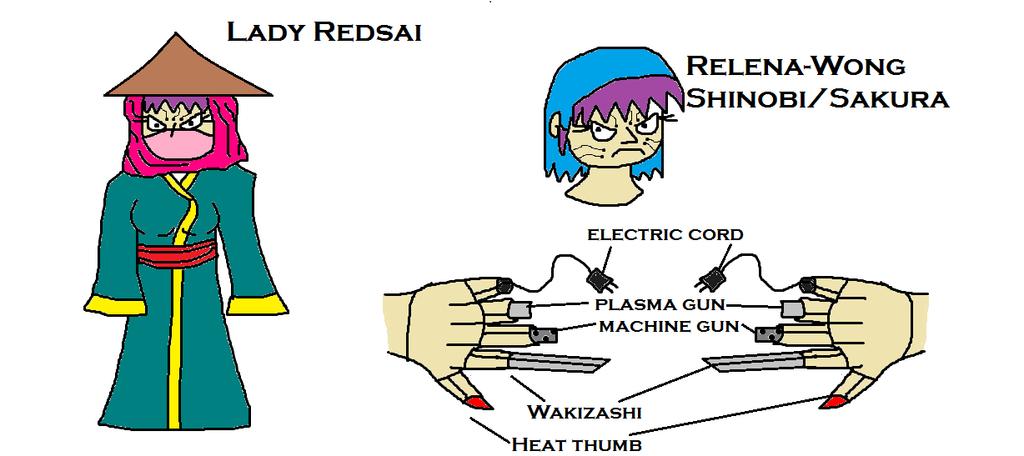 Lady Redsai by scifiguy9000